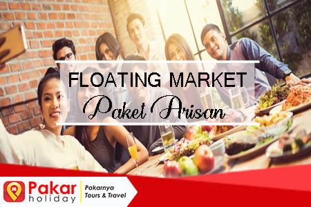 Paket Arisan Murah Floating Market Lembang Bandung