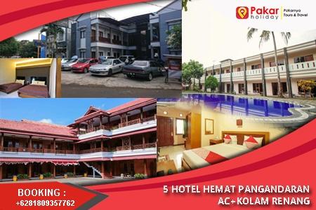 5 Hotel Murah Pangandaran Rp200.ooo ada kolam renang